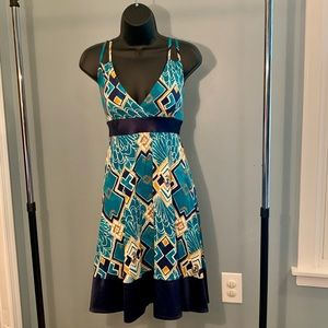 2 for $45!!!   Express strappy patterned dress